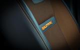 Ford Ranger Wildtrak interior stitching