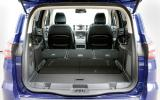 Ford S-Max seat flexibility