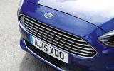 Ford S-Max chrome front grille