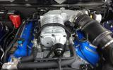 Supercharged V8 Mustang Shelby GT500 engine