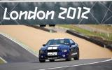 Ford Mustang GT500 on track