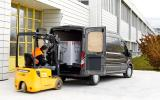 Loading the Ford Transit