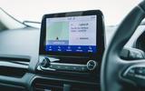 Ford Ecosport infotainment