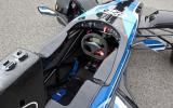 Formula Ford EcoBoost's cockpit