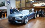 Volvo previews new estate concept for Geneva