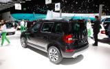 Frankfurt motor show 2013: Skoda Yeti facelift