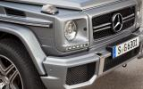 Mercedes-AMG G 63 front intakes