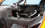 Ginetta G40 interior