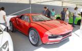 Festival of Speed supercar paddock