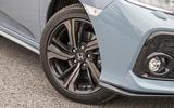 Honda Civic alloy wheels