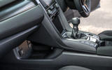 Honda Civic centre console