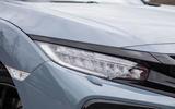 Honda Civic headlights