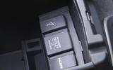 Honda Civic multimedia ports