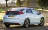 A 1.8-litre petrol engine is also an option for the Honda Civic