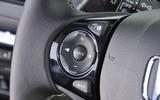Honda Civic steering wheel audio controls