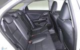 Honda Civic Tourer rear seats