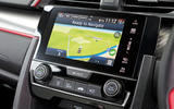 Honda Civic Type R centre console