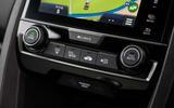 Honda Civic Type R climate controls