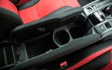 Honda Civic Type R cubby hole