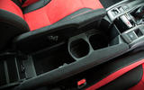 Honda Civic Type R cubby hole