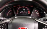 Honda Civic Type R instrument cluster
