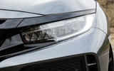 Honda Civic Type R LED headlights