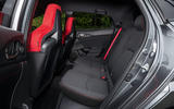 Honda Civic Type R rear seats