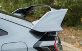 Honda Civic Type R rear spoiler