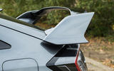 Honda Civic Type R rear spoiler