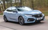 Honda Civic review hero front