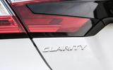Honda Clarity FCV badging