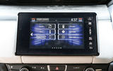 Honda Clarity FCV infotainment menus