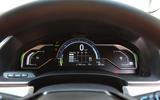 Honda Clarity FCV instrument cluster