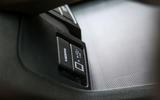 Honda Clarity FCV multimedia ports