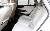 Honda Clarity FCV rear seats