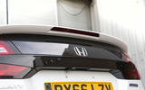 Honda Clarity FCV rear spoiler