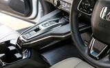 Honda Clarity FCV transmission tunnel
