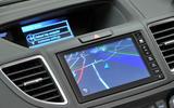 Honda CR-V infotainment system