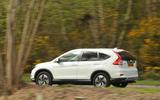 Honda CR-V rear cornering