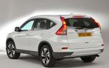 Honda CR-V rear quarter