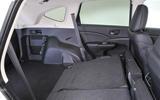 Honda CR-V seating flexibility