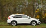 Honda CR-V side profile