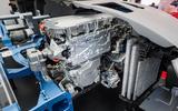 FC Clarity hydrogen engine bay