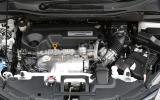The 1.6-litre diesel engine fitted to our Honda HR-V test car