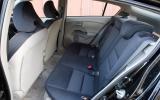 Honda Insight rear seats