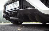 Honda NSX quad-exhaust system
