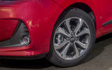 Hyundai i10 alloy wheels