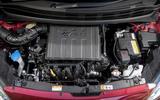 Hyundai i10 engine bay
