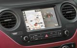 Hyundai i10 infotainment system