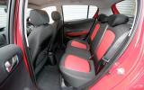 Hyundai i20 rear seats